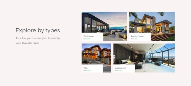 explore homes or properties by types - real estate