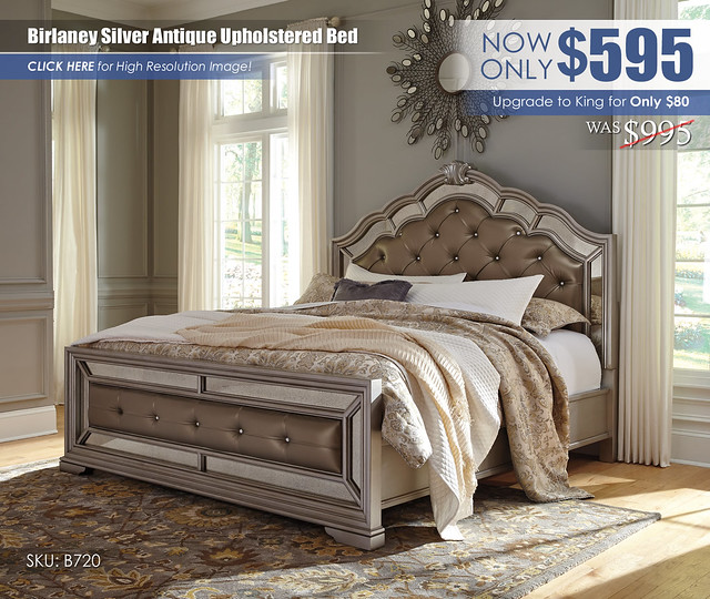 Birlaney Antique Upholstered Bed_B720-58-56-97
