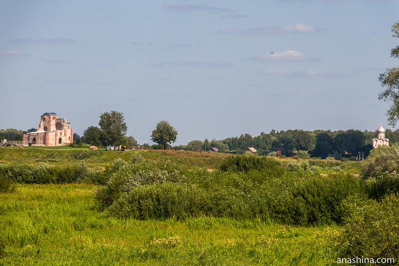 Церковь Благовещения на Городище и храм Спаса Преображения на Нередице, Новгород