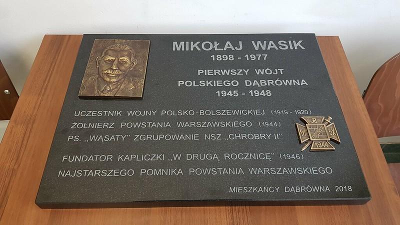 tablica Mikołaj Wasik