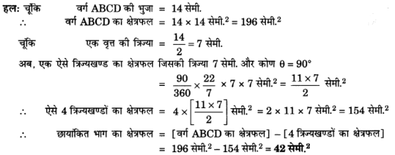 UP Board Solutions for Class 10 Maths Chapter 12 Areas Related to Circles page 257 7.1