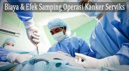 Biaya Operasi Kanker Serviks Stadium 1 2 3 4