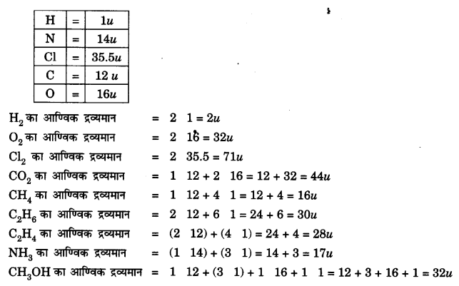 NCERT Solutions for Class 9 Science Chapter 3 (Hindi Medium) 4