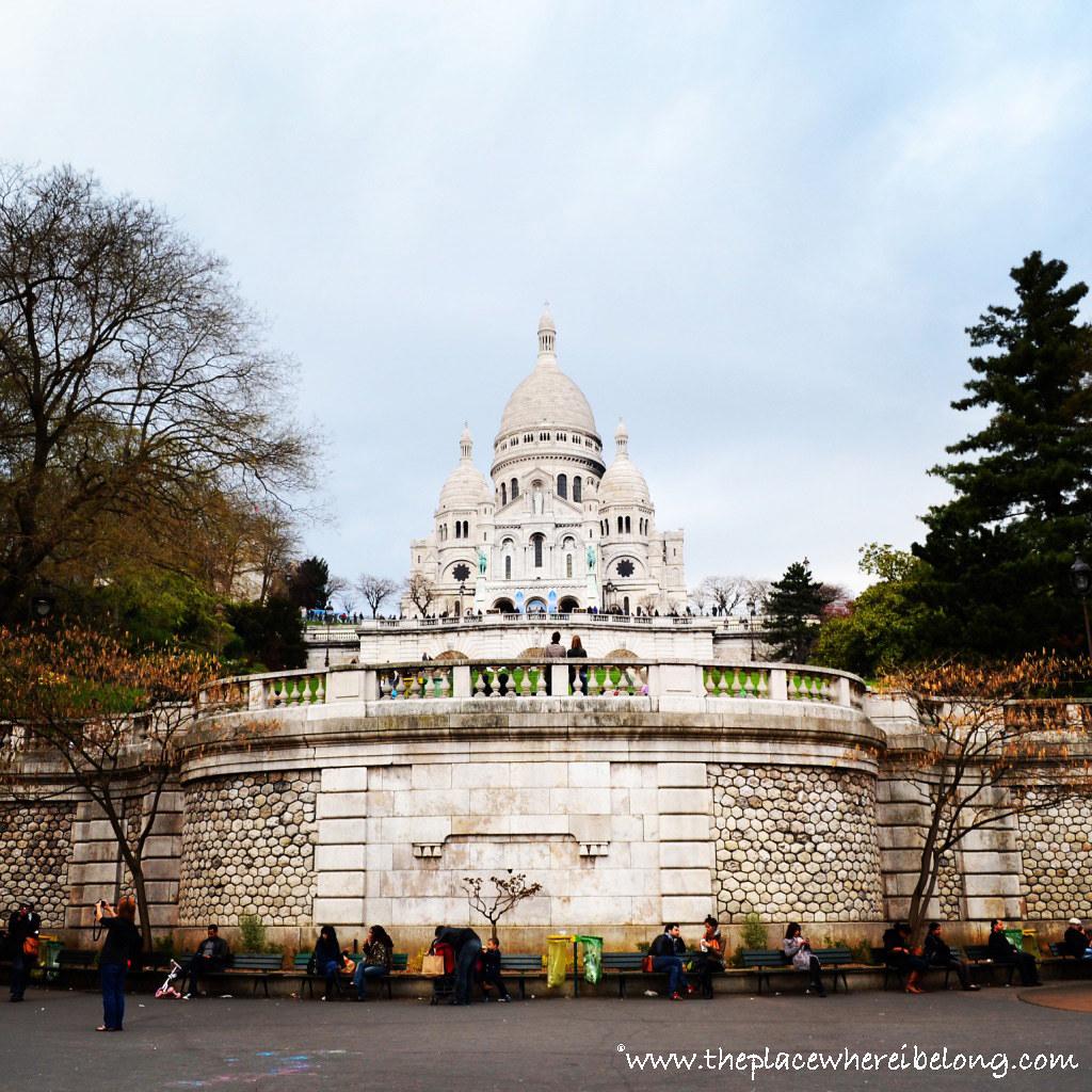 La basilica del Sacré-Coeur