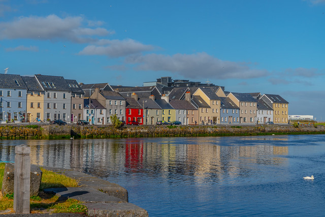 THE CLADDAGH AREA OF GALWAY [THE RAIN STOPPED FOR AN HOUR OR TWO]-141476