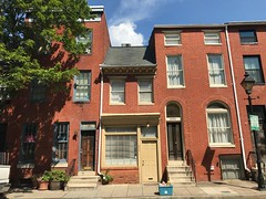 Rowhouses/commercial buildings, 668-672 Washington Boulevard, Baltimore, MD 21230