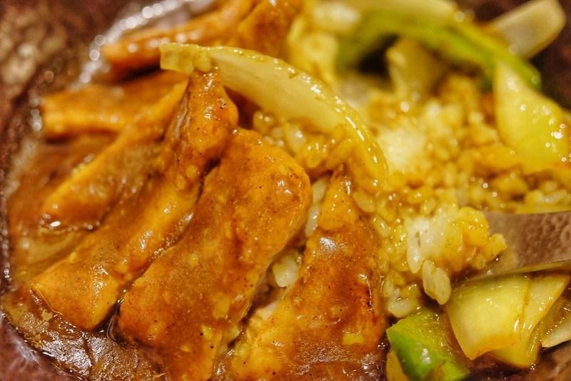 熱々パイコー丼土鍋焼き