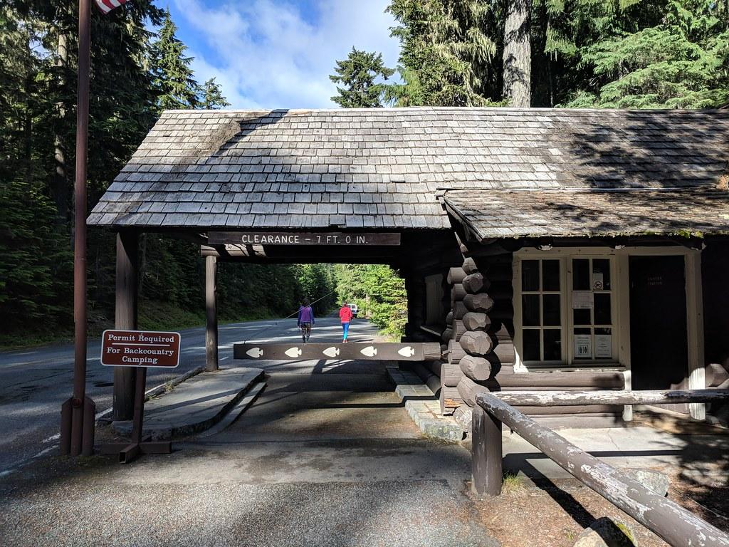 Rainier ranger station