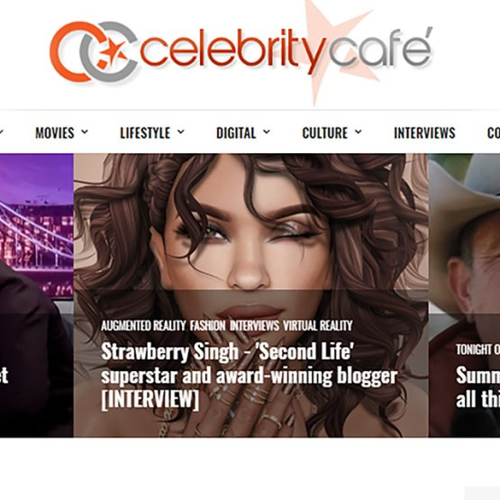Second Life on The Celebrity Cafe