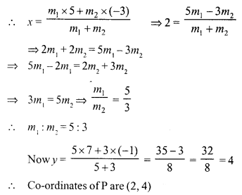 Selina Concise Mathematics Class 10 ICSE Solutions Chapter 13 Section and Mid-Point Formula Ex 13A 11