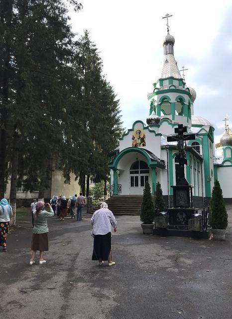 2018 07 Свято-Николаевский мужской монастырь в с. Иза-Карпутлаш (Карповтлаш). Закарпатье