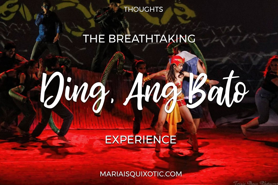 The Ding, Ang Bato Experience