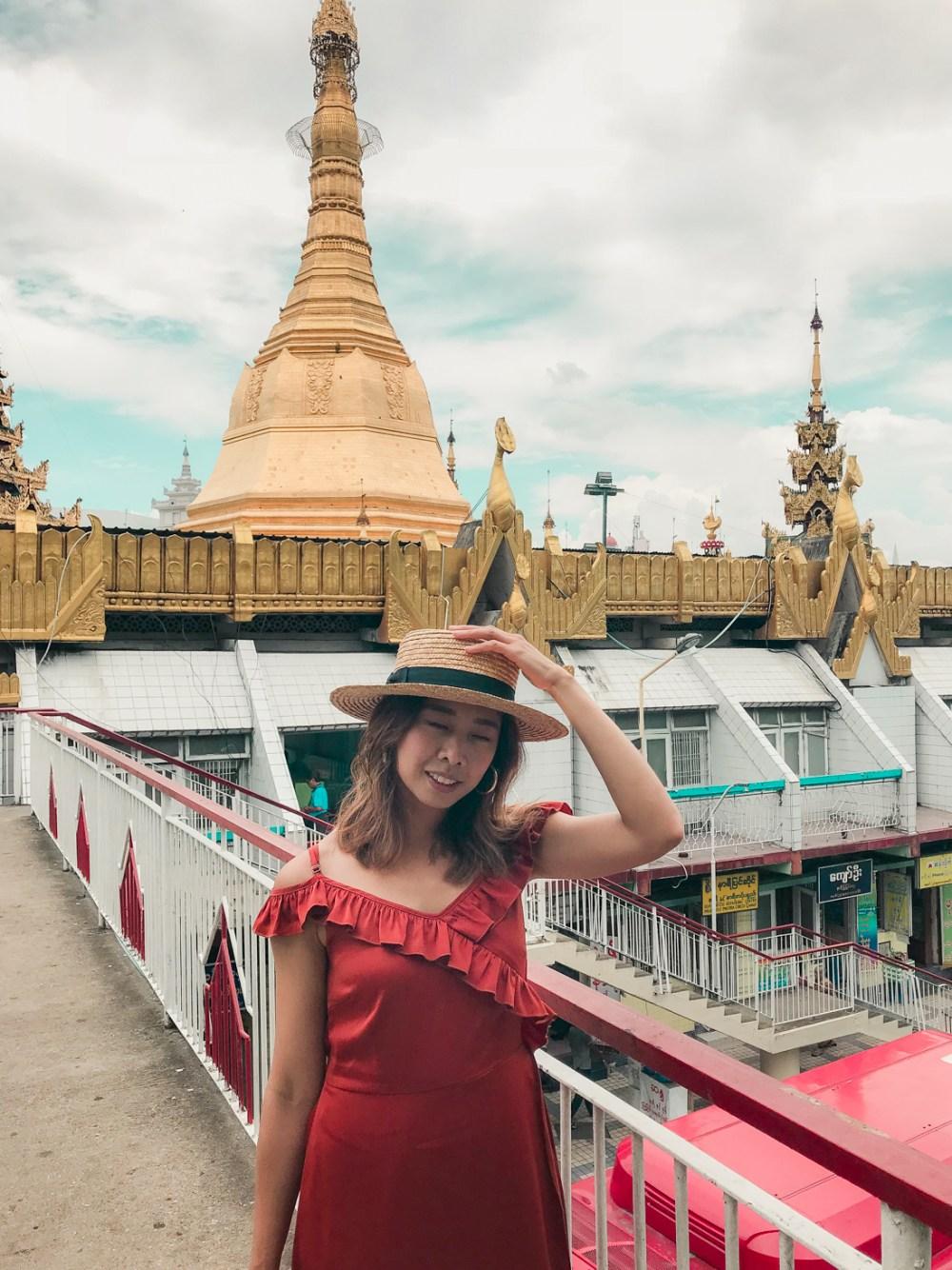 Shwedagon Pagoda Sule Myanmar Yangon-4