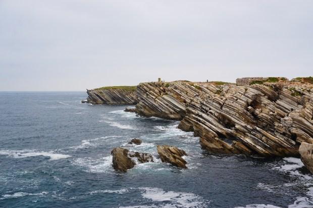 Stunning cliffs in Baleal