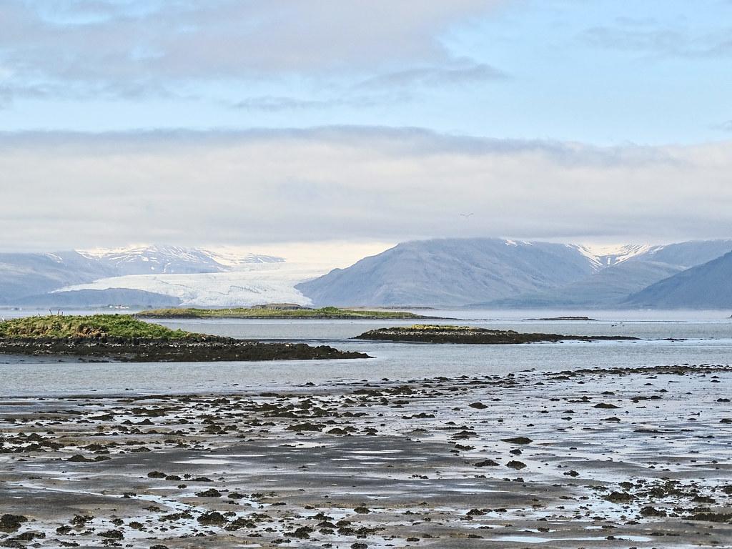 Vistas panorámicas del glaciar Vatnajökull desde el municpio de Höfn Islandia 05