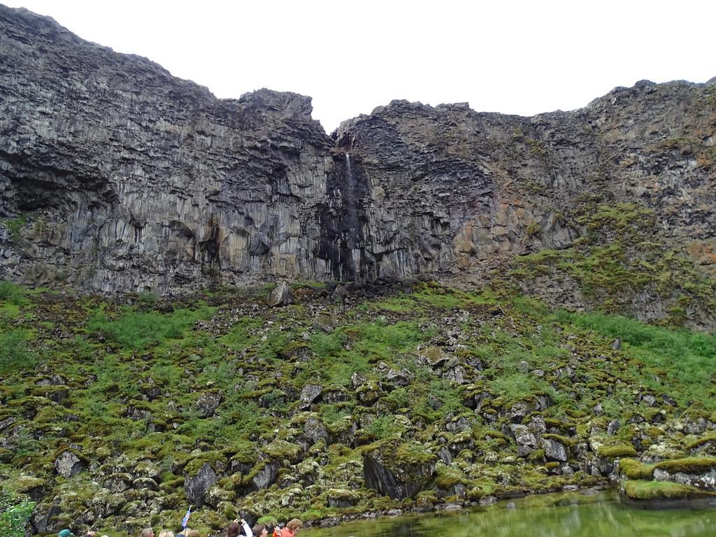 Cañon o desfiladero de Asbyrgi Parque Nacional Jokulsargljufur Islandia 05