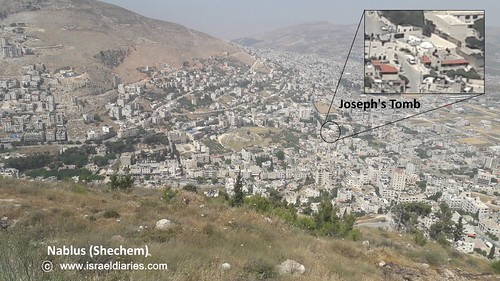 Kever Yoseph in Shechem-Nablus in Samaria