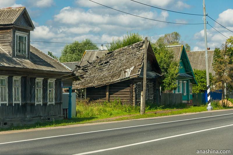 Одна из придорожных деревень, Тверская область