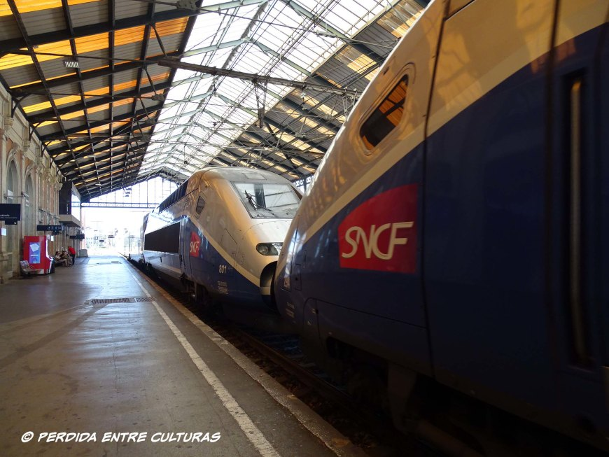 Estación Renfe-SNCF en Narbona