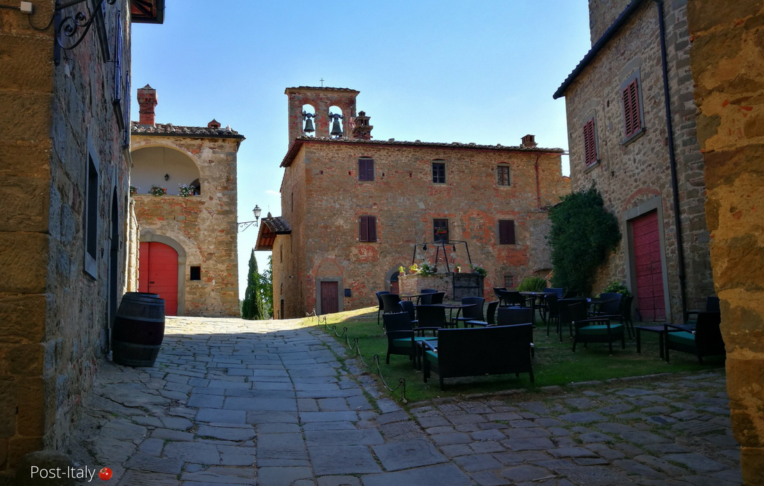 Castello di Gargonza, Toscana