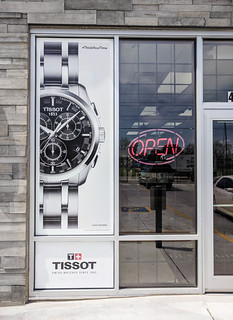 Tissot Perforated Window Vinyl