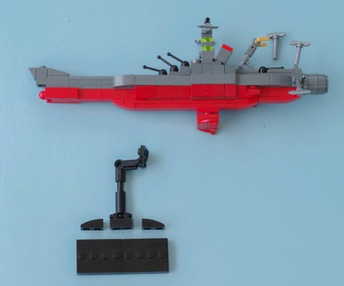 Desktop Space Battleship Yamato Building Instruction Build Any Brick