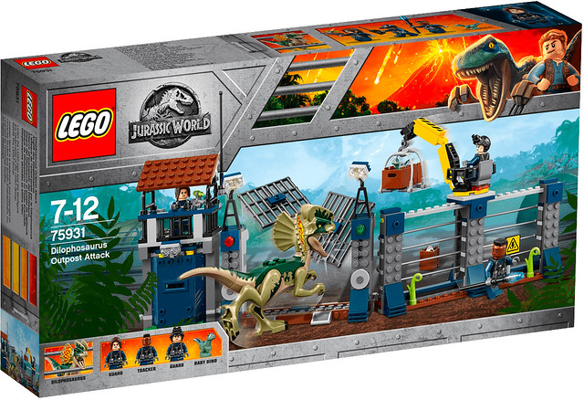 Review Jurassic World LEGO 75931 Dilophosaurus Outpost Attack
