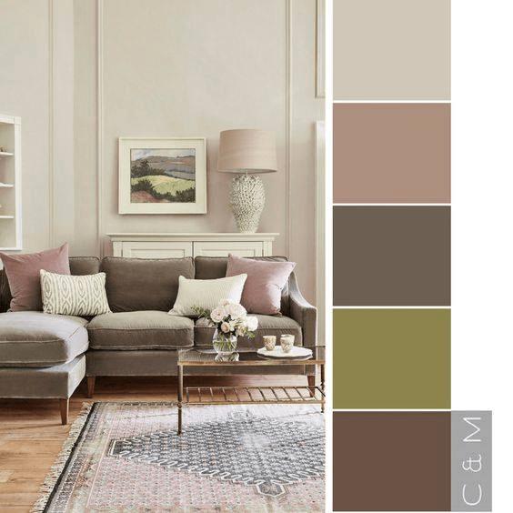 home colour selection