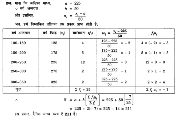 UP Board Solutions for Class 10 Maths Chapter 14 Statistics page 296 6.1