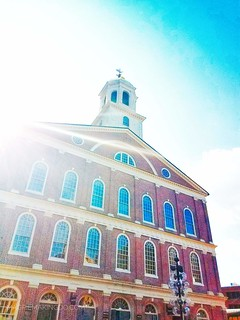 Fanueil Hall bright