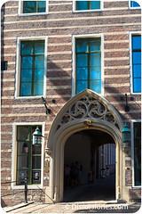 La entrada de la keli del Papa de Utrecht