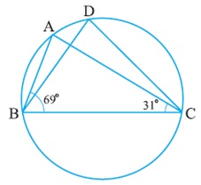 Class 9 Maths NCERT Circles Solutions Hindi Medium 10.5 4