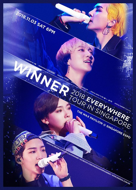 WINNER 'Everywhere' Tour in Singapore