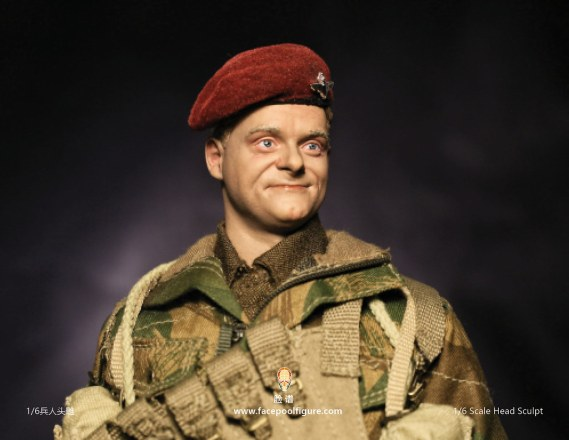 Facepool Figure BRITISH AIRBORNE FP-H-001