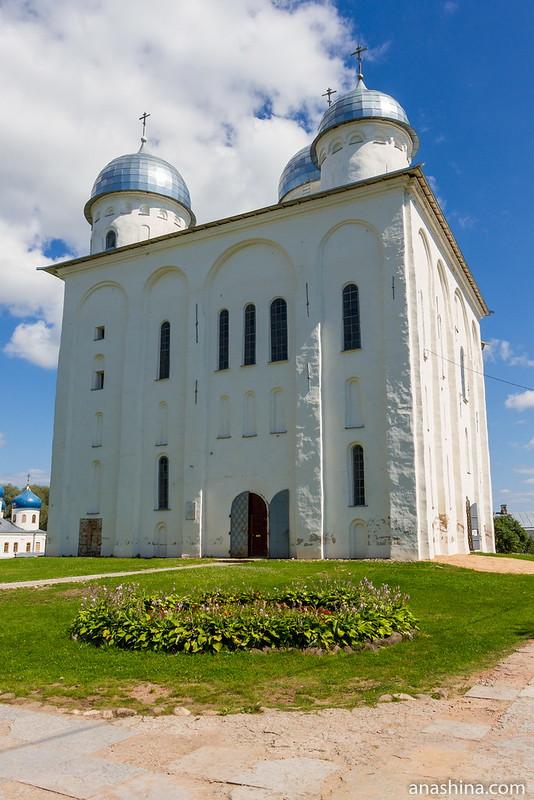 Георгиевский собор Юрьева монастыря, Великий Новгород