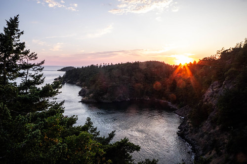 Sunset over Deception Pass-002
