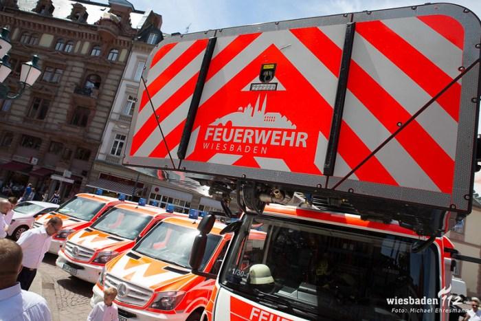 Fahrzeugübergabe FW Wiesbaden 09.07.18