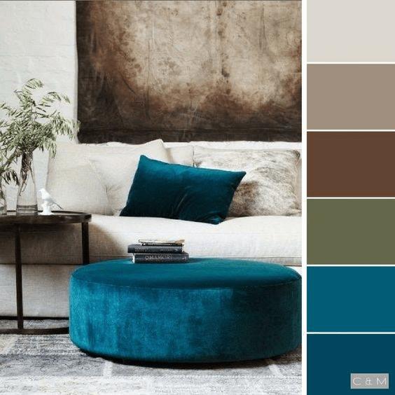 interior colour combinations for walls