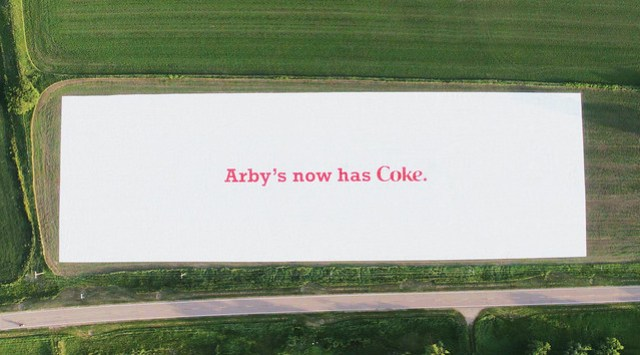 Arby's and Coca-Cola Partnership