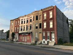 Rowhouses/commercial buildings, 2600 block of Greenmount Avenue (east side), Baltimore, MD 21218