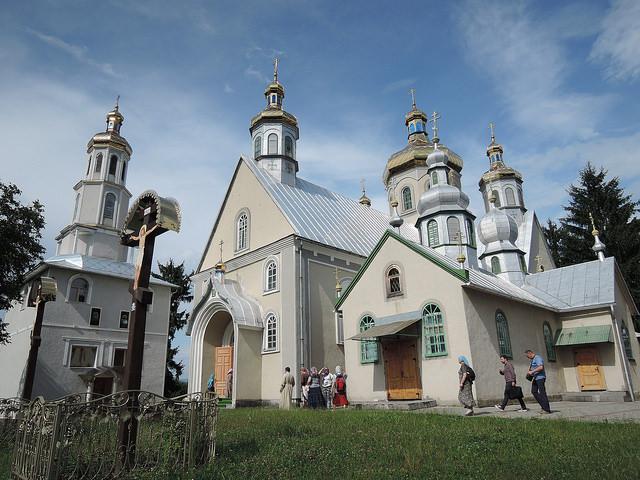Свято-Вознесенский женский монастырь в с. Чумалево Закарпатской области