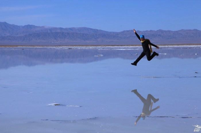 茶卡鹽湖-玩全攻略│肆無忌憚的踩踏上天空之鏡