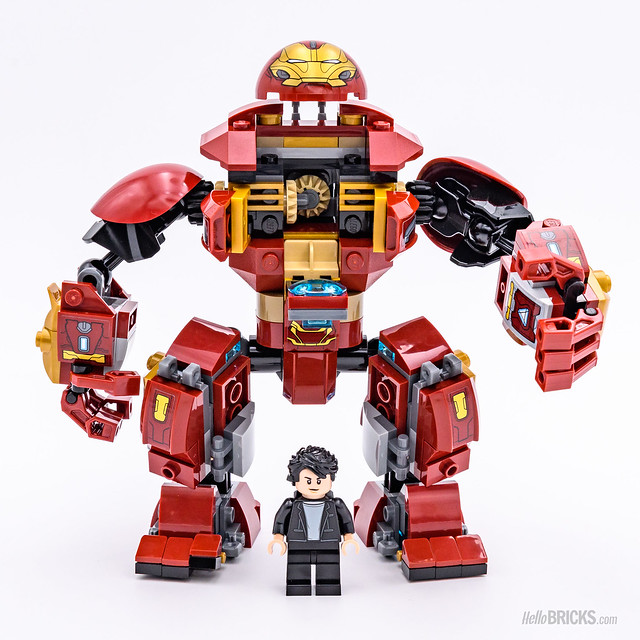 REVIEW LEGO Marvel 76104 The Hulkbuster Smash-Up 08