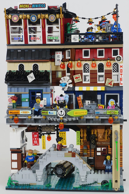 Ninjago City Shops