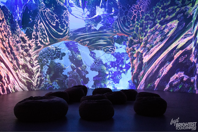 Fractal Worlds at Artechouse
