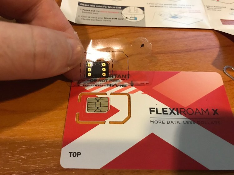 Flexiroam X Unboxing 2