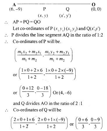 Selina Concise Mathematics Class 10 ICSE Solutions Chapter 13 Section and Mid-Point Formula Ex 13C 4