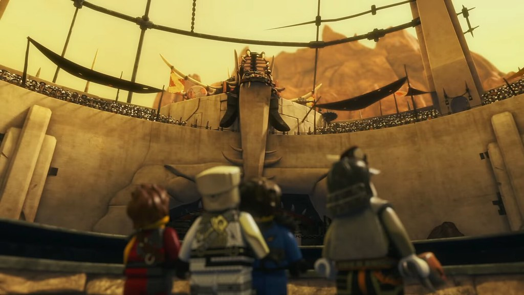 Still from Ninjago Hunted Episode 86