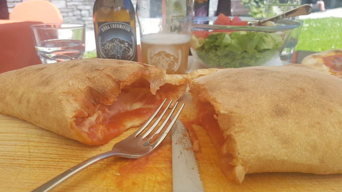 Calzone Lunch