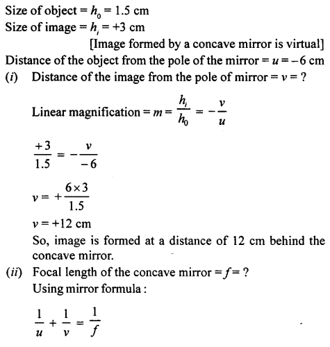 A New Approach to ICSE Physics Part 1 Class 9 Solutions Light 33.1